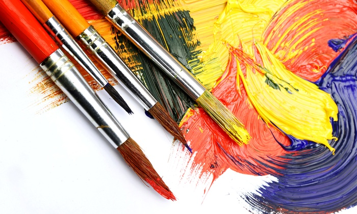 Wine and Paint Parties - Multiple Locations: One or Two Art Classes from Wine and Paint Parties (Up to 50% Off)