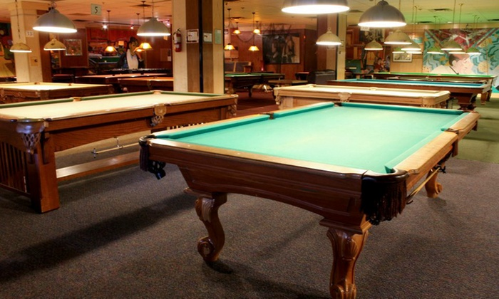 Peacock Billiards - Victoria: Billiards for Two or More at Peacock Billiards (Up to 60% Off). Two Options Available.