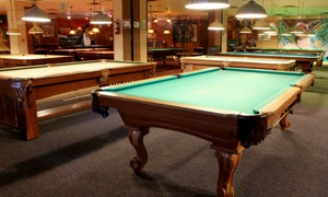 Peacock Billiards: Billiards for Two or More at Peacock Billiards (Up to 60% Off). Two Options Available.