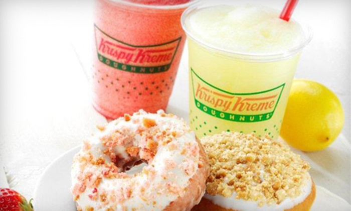 Krispy Kreme - Multiple Locations: One Dozen Original Glazed Doughnuts