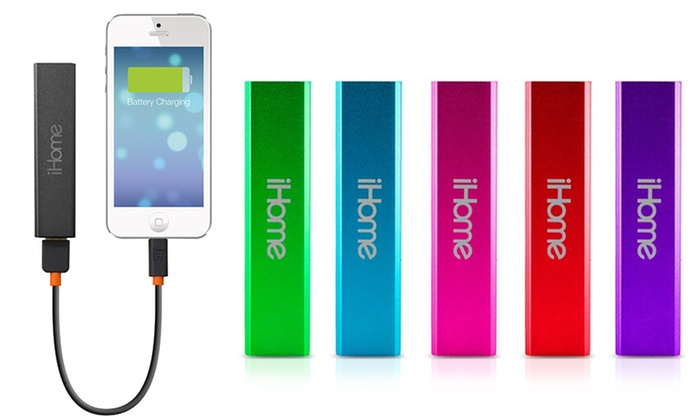 Ihome 2200mah Rechargeable Battery Pack Groupon