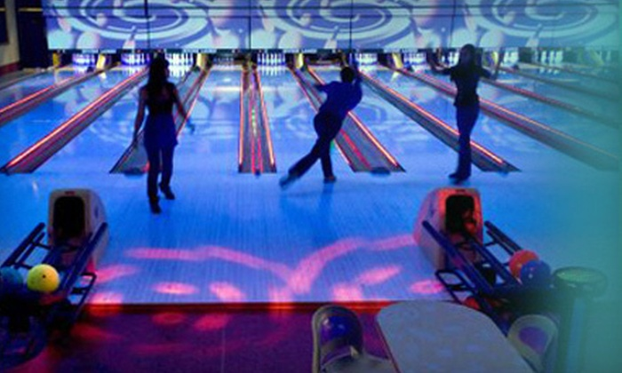 Irvine Lanes - Rancho San Joaquin: Galaxy Bowling for Two or Four at Irvine Lanes (Half Off)