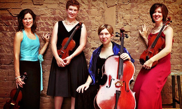 """Date Night! With Strings Attached - Garland Hill: Lynchburg Symphony Orchestra's """"Date Night! With Strings Attached"""" Quartet Performance for Two on Friday, November 2"""