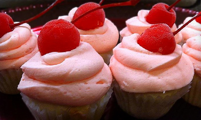 Red Scooter Bakery - Central Scottsdale: One Dozen Mini Cupcakes or Gluten-Free Brownies or Two Dozen Mini Cupcakes at Red Scooter Bakery (Up to 53% Off)