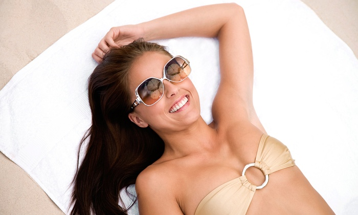 Hawaiian Sun Tan - Livonia: Spray and UV Tanning at Hawaiian Sun Tan (Up to 57% Off). Five Options Available.