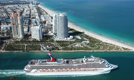 7 Night Eastern Or Western Caribbean Cruise With Miami