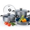 10-Piece Aluminum-Cookware Set