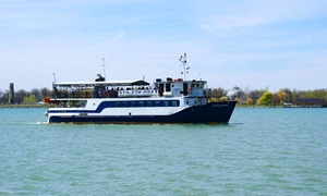 Windsor River Cruises: Sightseeing Cruise of the Upper Detroit River for Two or Four from Windsor River Cruises (Up to 42% Off)
