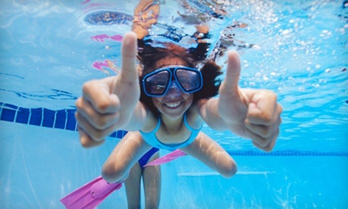 SwimJim - Briarforest: Eight Swim Classes for a Child or Adult at SwimJim (Up to 64% Off)