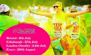 Color Vibe 5K Run 2016: Color Vibe 5K Run: Adult Entry with Optional Colour Pack, Choice of Date and Location (Up to 50% Off)