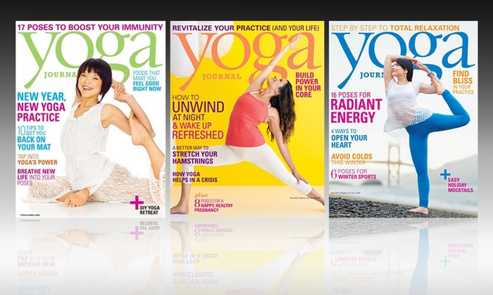 Subscription to Yoga Journal Magazine: One-Year, Nine-Issue Subscription to Yoga Journal Magazine