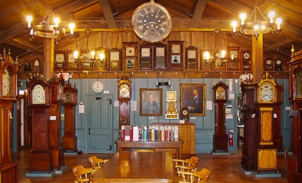 $12 for Admission for Four to the American Clock and Watch Museum (Up to $24 Value)