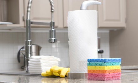 One or Three Two-Hour Housecleaning Sessions from Magic Touch Cleaning (Up to 68% Off)