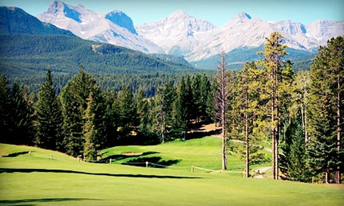 Crowsnest Pass Golf & Country Club - Crowsnest Pass: 18 Holes with Cart and Range Balls for Two or Four at Crowsnest Pass Golf & Country Club in Blairmore (Up to 55% Off)