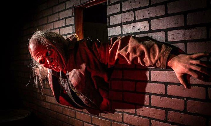 Basement of the Dead - Zombie Outbreak - Aurora: $45 for VIP Admission for Two to a Live-Action Zombie Experience at Zombie Outbreak ($100 Value)