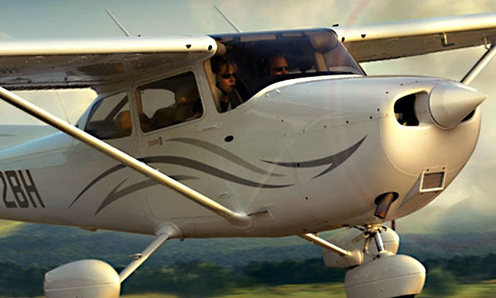 California Flight Center - Long Beach Municipal Airport: $129 for a Discovery Flight Package for Two at California Flight Center ($258 Value)