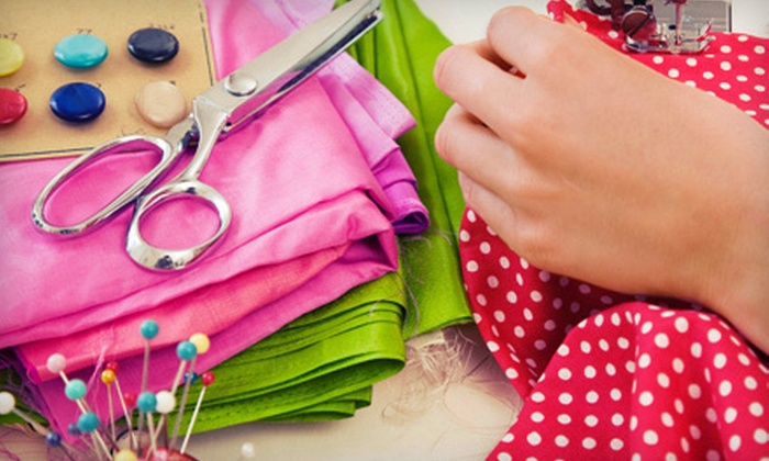 Sewtropolis - Windom: One Sewing Class, Two Classes or One Class for Two, or $10 for $20 Worth of Sewing Supplies at Sewtropolis