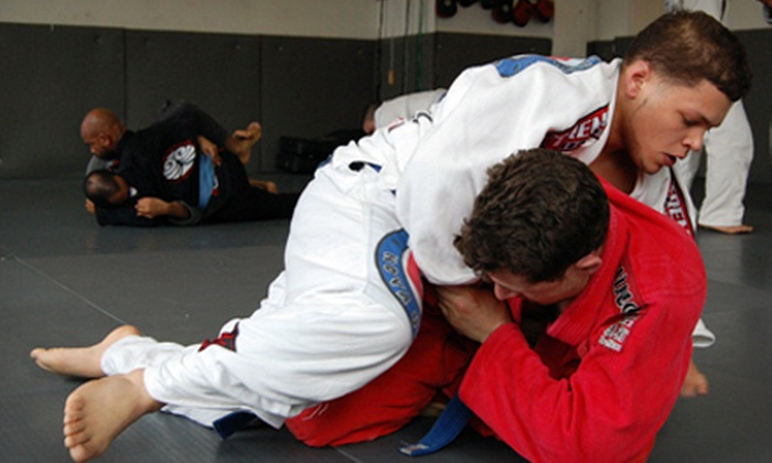 Modern Martial Arts - Multiple Locations: 5 or 10 Brazilian Jujitsu Classes at Modern Martial Arts (Up to 67% Off)