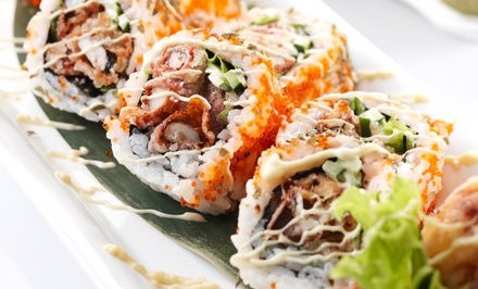 $12 for $20 Worth of Asian Cuisine at Wok and Roll