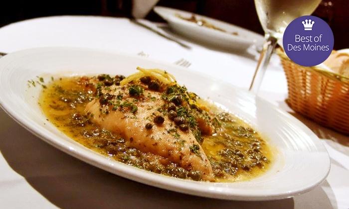 Sam & Gabe's Italian Bistro - Clive: Italian Food at Sam & Gabe's Italian Bistro (42% Off). Two Options Available.