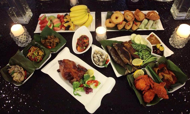ramadhan buffet dinner for up to 10 people at jardin villa