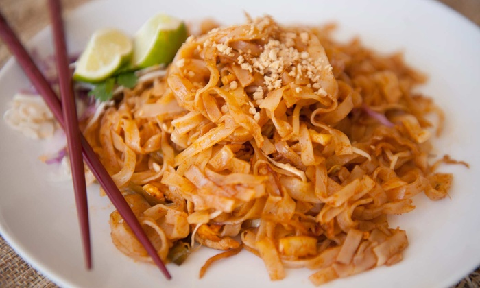 Jazmine Thai - West Chester: Authentic Thai Cuisine and Drinks at Jazmine Thai (Up to 52% Off). Two Options Available.