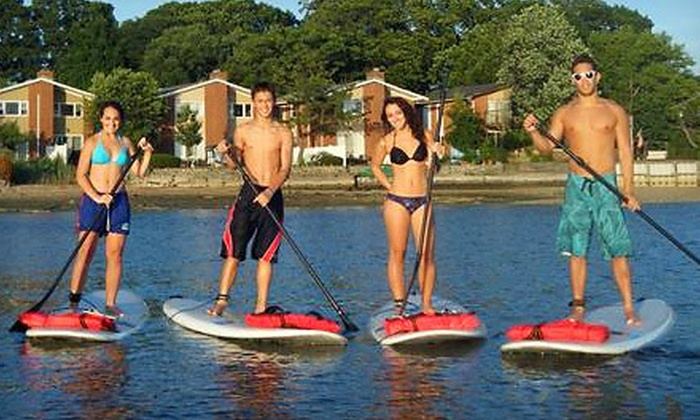 Kostal Paddle - Multiple Locations: One-Hour Standup Paddleboarding Lesson for One or Two at Kostal Paddle (Up to 73% Off)