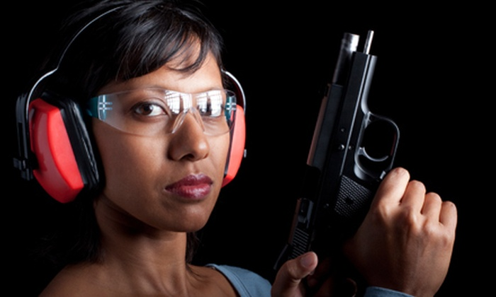 SharpShooters USA - Roswell: Day at the Shooting Range for One or Two at SharpShooters USA in Roswell (Up to 56% Off) USA