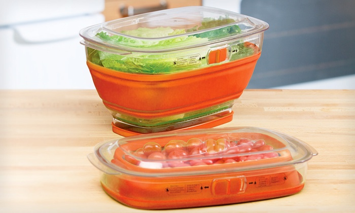 Collapsible Produce Keeper: $10 for a 4 Qt. Collapsible Produce Keeper ($18.99 List Price). Free Returns.