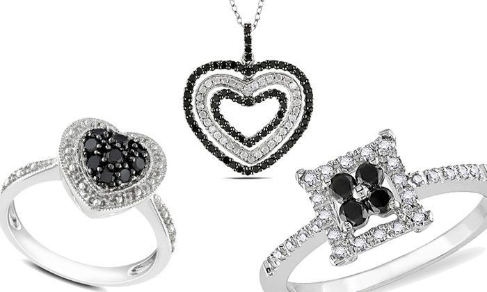 Black Diamond Jewelry: Black Diamond Jewelry (Up to 69% Off). Multiple Options Available. Free Shipping.