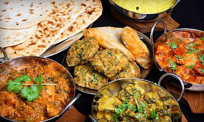 Namaste India Restaurant - Golden Triangle - Old Ottawa East - Ottawa South: Indian Dinner for Two or Four at Namaste India Restaurant (Up to 52% Off). Three Options Available.