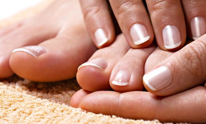 Blue House Salon-Norma Rodriguez - Byers Mccart: One or Two Shellac Mani-Pedis from Norma Rodriguez at Blue House Salon (Up to 65% Off)