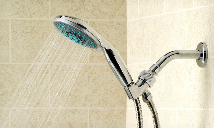 Bath Basics Shower Massagers: $11.99 for a Bath Basics Shower Massager (Up to $35.67 list price). Six Options Available. Free Returns.
