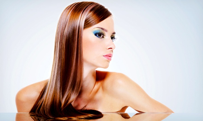 Simply Natural Beauty Salon - Lindenhurst: One, Three, Six, or Nine Keratin Blowouts or Relaxers at Simply Natural Beauty Salon (Up to 63% Off)