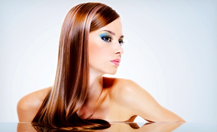 One, Three, Six, or Nine Keratin Blowouts or Relaxers at Simply Natural Beauty Salon (Up to 63% Off)