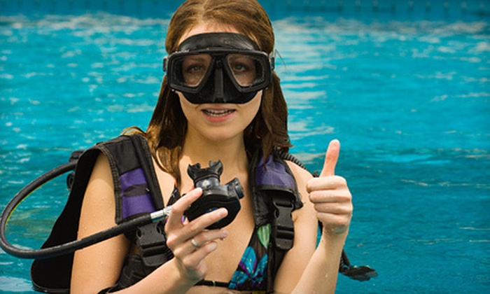 TD Scuba - Deerbrook: Open-Water Scuba Certification Course or Intro Scuba Lesson from TD Scuba (Up to 55% Off)