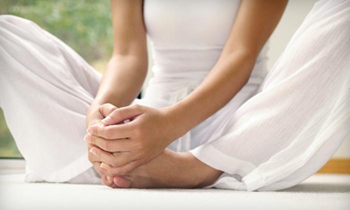 Lhotse Yoga - Northeast Meridian: 10 or 20 Hot-Yoga Classes at Lhotse Yoga (68% Off)