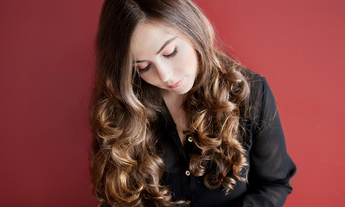 Holly Uzzel @ Valencia Salon and Spa - Holly Uzzel at Valencia Salon and Spa: Wash, Haircut & Blowout with Partial or Full Highlights by Holly Uzzel at Valencia Salon and Spa (Up to 53% Off)