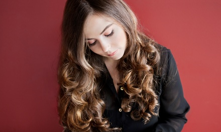 Wash, Haircut & Blowout with Partial or Full Highlights by Holly Uzzel at Valencia Salon and Spa (Up to 53% Off)