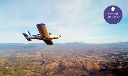 $199 for Flight-Lesson Package for 1 Student and 2 Passengers from Learn To Fly San Diego ($582 Value)