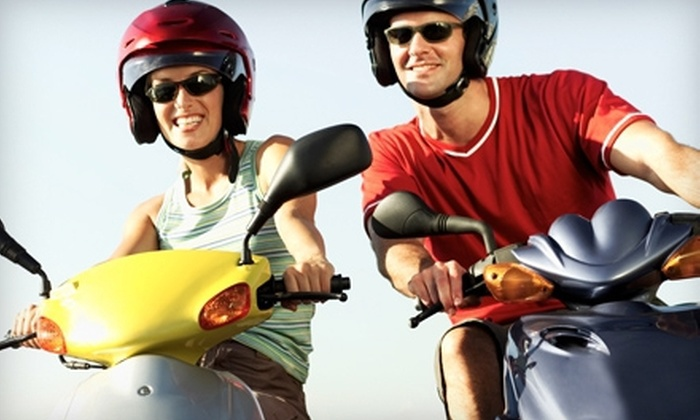 Penn Scooters - Philadelphia: Three- or Eight-Hour Scooter Rental from Penn Scooters (Up to 53% Off)