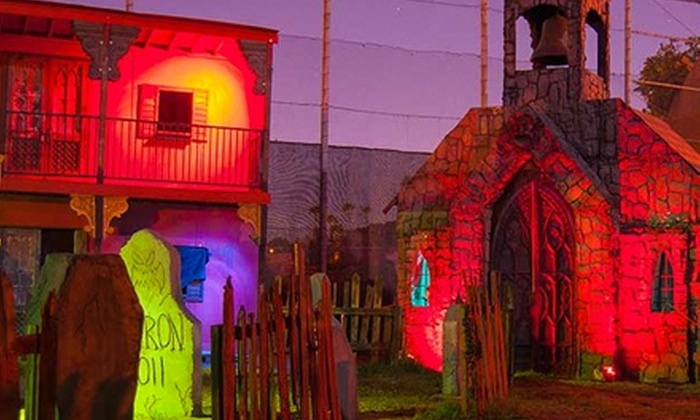 Haunted Hollywood Sports - Bellflower: $25 for Admission to Haunted Hollywood Sports ($70 Value). 10 Dates Available.