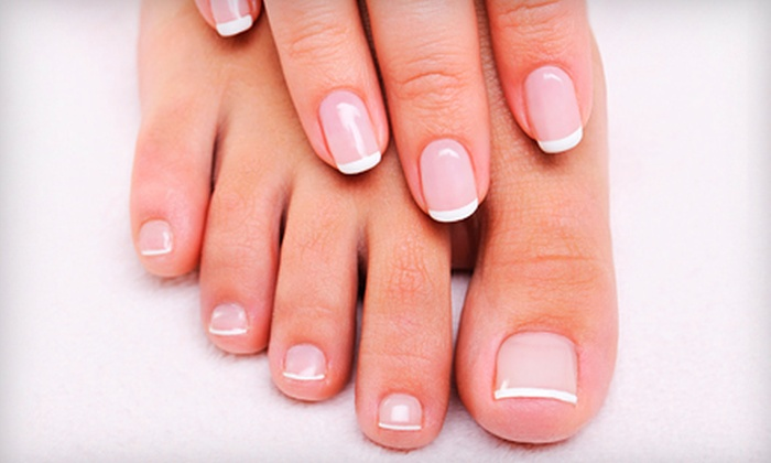 T2 Nails & Wax - Picnic Point-North Lynnwood: $31 for a 90-Minute Spa Mani-Pedi at T2 Nails & Wax in Lynnwood ($62 Value)
