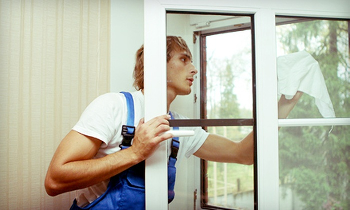 Salt Lake City Window Cleaning - SLC: Interior and Exterior Window Cleaning for Up to 25 or 50 Panes from Salt Lake City Window Cleaning (Half Off)