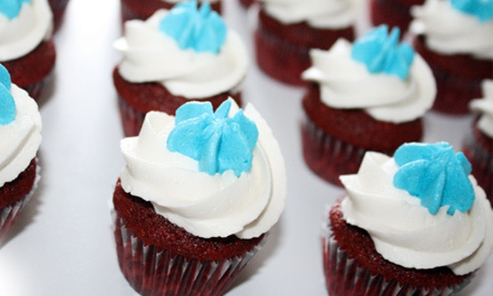 So CupCakeable - Amhurst: 12, 24, or 48 Mini Cupcakes with Delivery from So CupCakeable (Up to 63% Off)