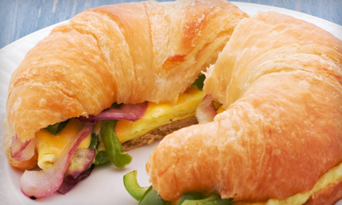 Lazy Pickle - Carlingwood - McKellar Park - Laurentien View: Five Breakfast Sandwiches or a Sandwich Meal for Two with Pop at Lazy Pickle (Up to 53% Off)