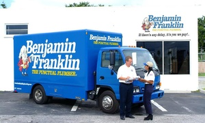 Benjamin Franklin Plumbing: $29 for Water-Heater Tuneup Packages from Benjamin Franklin Plumbing ($129 Value)