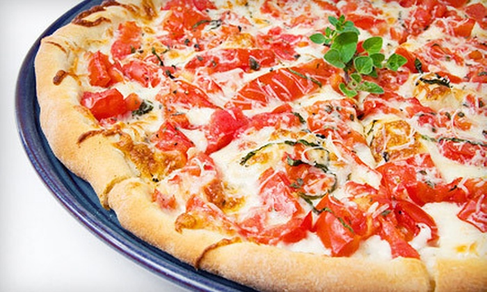 Roma Delight - Great Kills: Two Pizzas and One Salad, with Option for Three Hot Hero Sandwiches at Roma Delight (Up to 64% Off)