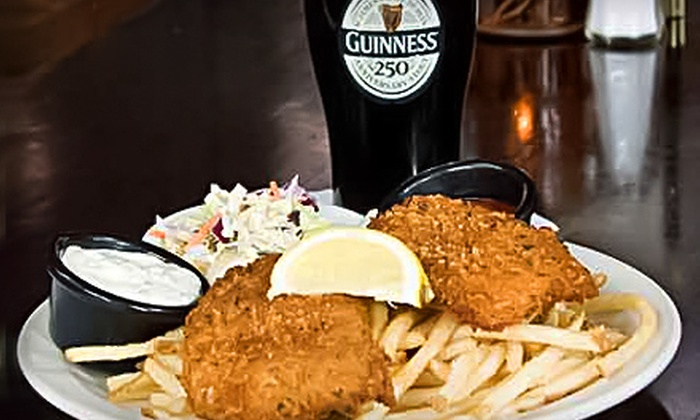 Paddy Coyne's - Multiple Locations: $10 for $20 Worth of Irish Pub Food at Paddy Coyne's