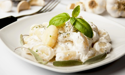 $25 for $50 Worth of Italian Dinner and Drinks for Two or More at Sopra Ristorante